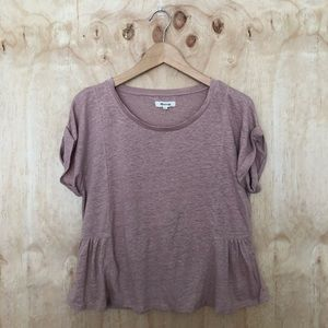 Madewell | dusty rose T-shirt